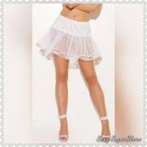 🆕Lace trim Petticoat/Costume/cosplay/skirt/dress